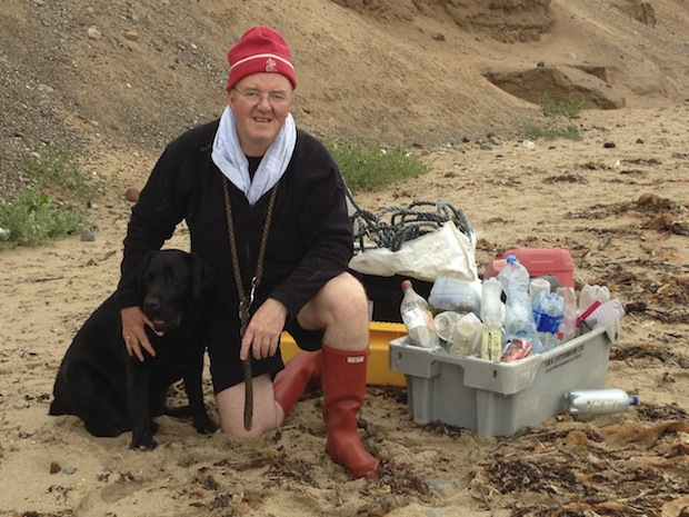 Isle of Man beach cleanup. Please leave our Island cleaner than you found it.