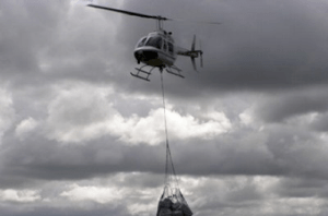 Wings Like Eagles. Helicopter Relief For Mozambique Floods.