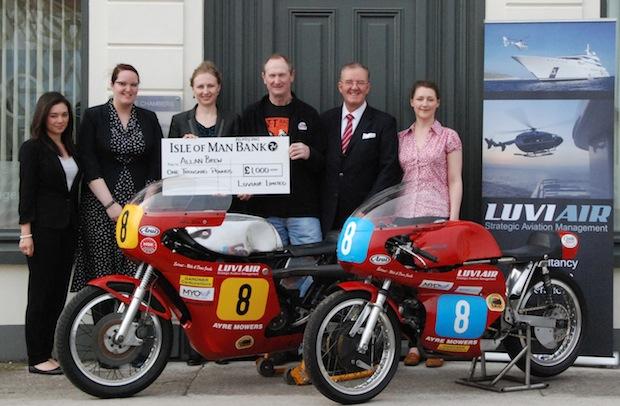 Allan Brew at Isle of Man Classic 500 TT