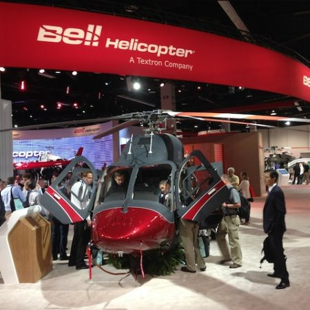 Bell 429 VIP Configuration. Review At Heli-Expo 2014, California.