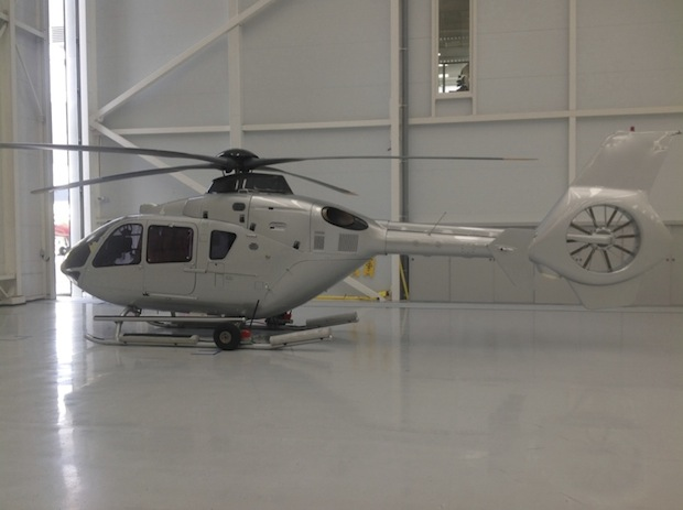 HeliYacht Refurbishment Project Airbus Helicopter EC135T1