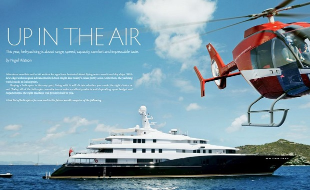 Heliyacht review Asia Pacific Boating