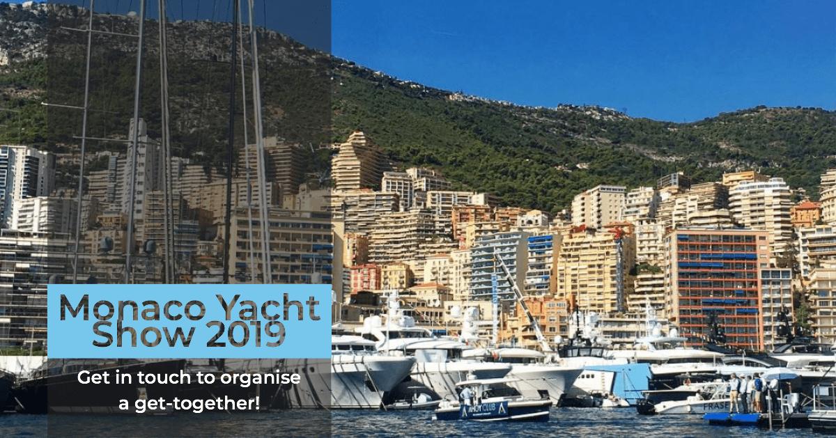 Monaco Yacht Show 2019 : the build up!